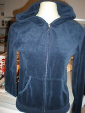 NEW JUICY COUTURE NAVY BLUE & SILVER  Jogging Hoodie Jacket   SIZE M NEVER WORN