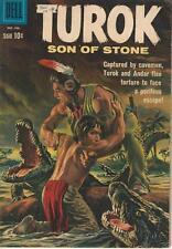 Dell Comics Turok Son Of Stone Volume One (1956 Series) #22 FN- 5.5