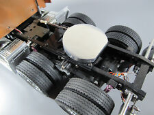Aluminum 5th wheel Coupling Cover Tamiya RC 1/14 Globeliner Aeromax King Hauler
