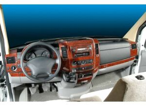 DODGE FREIGHTLINER MERCEDES W906 SPRINTER INTERIOR DASH TRIM 40PCS 2006-UP RHD