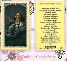 Prayer to God the Father - Laminated Holy Card