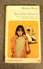 BACHELOR DOCTOR by MARJORIE WARBY - FONTANA BOOKS 1965 - P/B -  UK POST £3.25