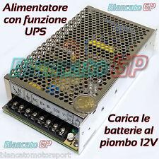 ALIMENTATORE UPS 13,8V PFC ATTIVO BUFFER 150W backup GRUPPO CONTINUITÀ quadro