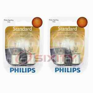 2 pc Philips Front Side Marker Light Bulbs for Mitsubishi Eclipse Mirage ks