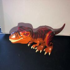 LEGO Set 5886 Dino Red Tyrannosaurus Rex.  Figure Only. Dark Red back  RARE