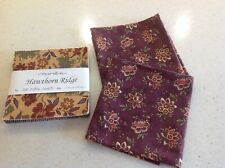 Moda Hawthorn Ridge Charm Pack plus two fat quarters of included fabric.