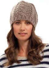 1f295fc4b3e RJM Tom Franks Ladies Cable Knit Beanie Hat
