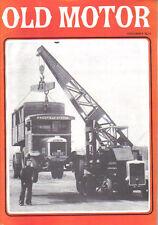 Old Motor Vol 9 No 1 Autoglider Thornycroft Leo Villa London Bus Dreyfuss Ford +