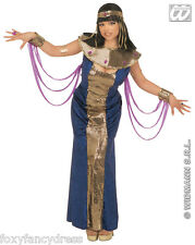 Reine Égyptienne Cléopâtre Nefertiti Pharaons Royal Femme Déguisement Taille S