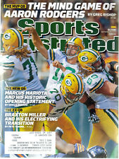 Sports Illustrated Aaron Rodgers Green Bay Packers Marcus Mariotta magazine SI