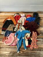 Lot Vintage 1950's 60's Barbie Doll Clone Handmade Dresses Jackets Pants Skirts