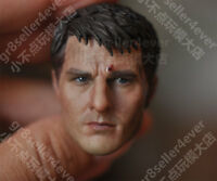 """Free Shipping 1/6 Head Sculpt Tom Cruise Edge of Tomorrow Battle Damaged fit 12"""""""