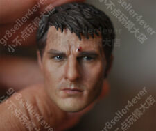Custom 1/6 scale Head Sculpt Tom Cruise Edge of Tomorrow Battle Damaged fit 12""