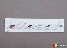 NEW GENUINE PORSCHE CAYENNE FRONT WING CHROME DIESEL LETTERING BADGE RIGHT O/S