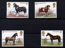 British 1978 Horses MNH set