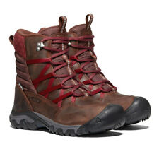 Keen Womens Hoodoo III Lace Up Winter Boots - Brown Red Sports Outdoors Warm
