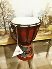 Professional African Djembe Drum Wood and Goat Skin picture