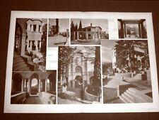 Gardone Riviera nel 1934 Vittoriale Gabriele D'Annunzio e Giancarlo Maroni