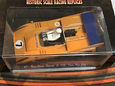 Historic Scale Racing Replicas-hsrr The Can-Am McLaren M8dc. 1970 slot cars 1/32