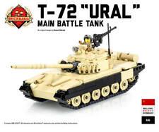 T-72 Ural Main Battle Tank - Brickmania Custom LEGO Building Set