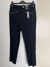 M&S Ladies Trousers Size 12 (reg) The Mia Slim Ankle Grazer BNWT RRP £35, Black
