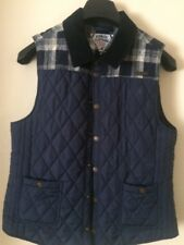 KANGOL QUILTED SLEEVELESS GILET Size 14 OR S/ M UNISEX TEEN