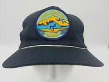 Vintage Denali National Park Alaska Snapback Mesh Trucker Hat 80s Patch