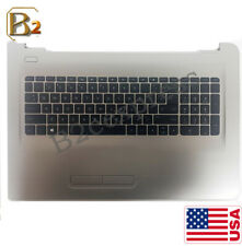 New For HP 17-AY 17-Y 17-X Backlight Palmrest Keyboard & Touchpad 856699-001 US