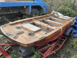 Pike Fishing Boat Not Used For Several Yrs.