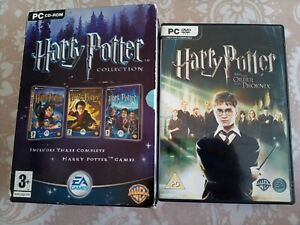 Harry Potter Collection + Order Of The Pheonix PC Games - Complete