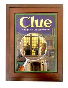 Clue Wooden Box Board Game Replacement Pieces and Parts Vintage Collection 2009