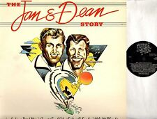 JAN AND DEAN the jan & dean story (greatest hits/best of) LP EX+/EX PAST 1 surf