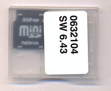 Mini Sd Card - 512 mb  Mini Sd Karte - NOKIA - NEU- mini sd karte -512 mb - NEU