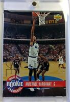 1993 Upper Deck Redemption Prizes Rookie Exchange Gold Anfernee Hardaway RC #RE3