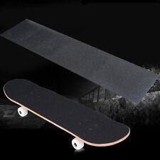 """33 """"x 9 Pulgadas Negro Impermeable Auto Adhesivo Lija Grip Cinta Patinaje Board Griptape"""