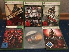 Xbox 360 Spielesammlung 6 Games Halo Fable GTA