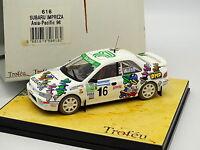 Trofeu 1/43 - Subaru Impreza WRC Asia Pacific 1996