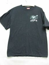 Z4145 NFL Jets black t-shirt size L.