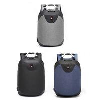 Anti- theft Men USB Customs Lock Smart Backpack School Business Travel Bags