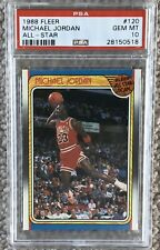 1988 Fleer Michael Jordan All-Star Gem Mint PSA 10