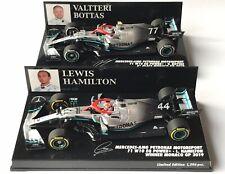 F1 MERCEDES W10 Hamilton Monaco Lauda Tribute 2019 1/43 MINICHAMPS 417190644