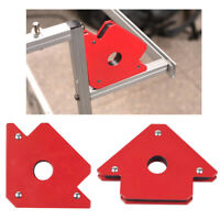4PCS Arrow Welding Magnets Clamp Holder Set Up To 25/50 LBs Strength Welder Tool