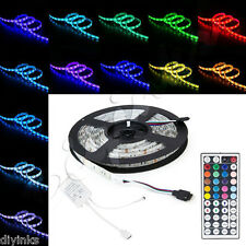 16.4ft LED 5050 Strip Flexible Light with 44 Key Remote -300 SMD LEDs Waterproof