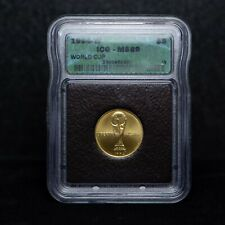 1994-W $5 World Cup Commemorative Gold Coin ICG MS69 (slx3782)