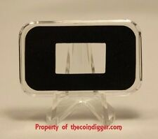 1 AIR-TITE Direct Fit Capsule Holder for 5 GRAM Silver Bar Acrylic Case Airtite