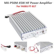 MX-P50M Manual HF Power Amplifier Amp For ICOM Elecraft KX3 QRP Ham Radio AM FM