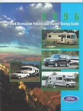 Original/Official 1996 Ford RV & Trailer Towing Guide Brochure 96 News