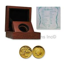 Niue 2015 Disney Jasmine $25 Gold Proof Coin with Box & COA SKU# 7671