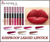 RIMMEL PROVOCALIPS 16HR KISS PROOF LIQUID LIPSTICK Lasting All Day