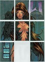 WITCHBLADE 1996 ETCHED FOIL PUZZLE CARDS